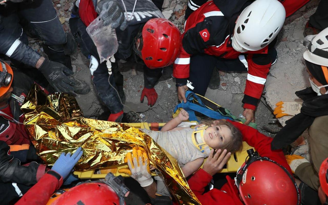 İzmir'de kurtarılan Ayda bebeğin eğitim masraflarını o firma karşılayacak
