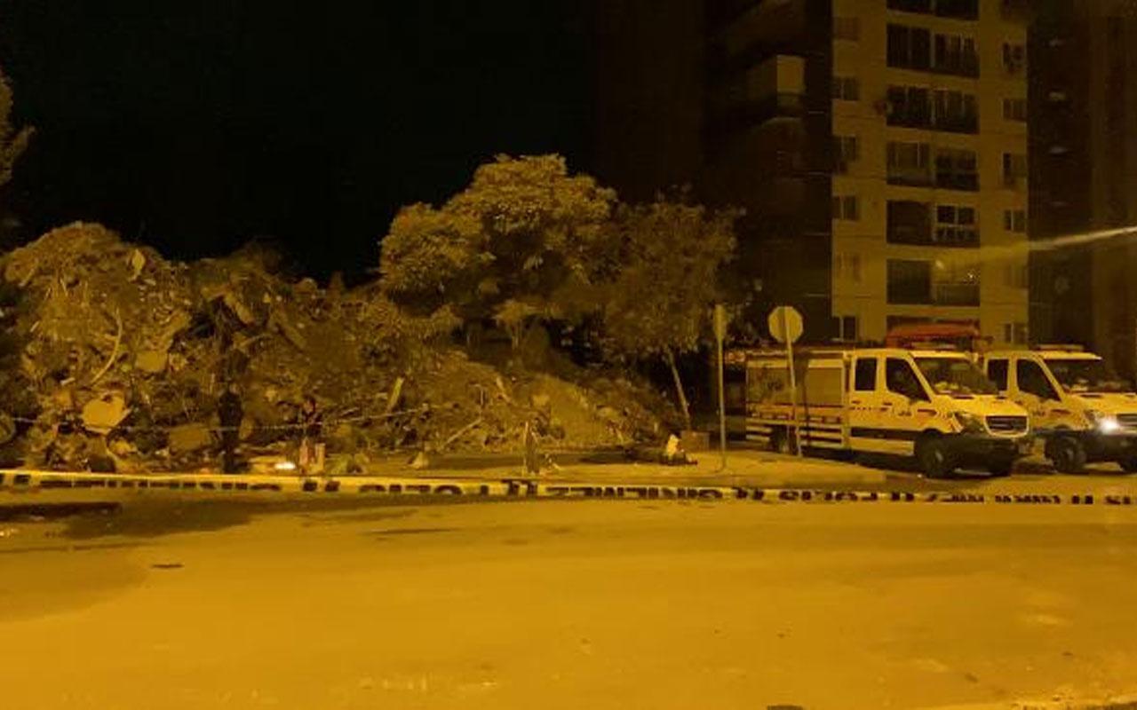 Üst katları yıkıldı! Yılmaz Erbek Apartmanı'ndan 3 cansız beden daha çıkarıldı