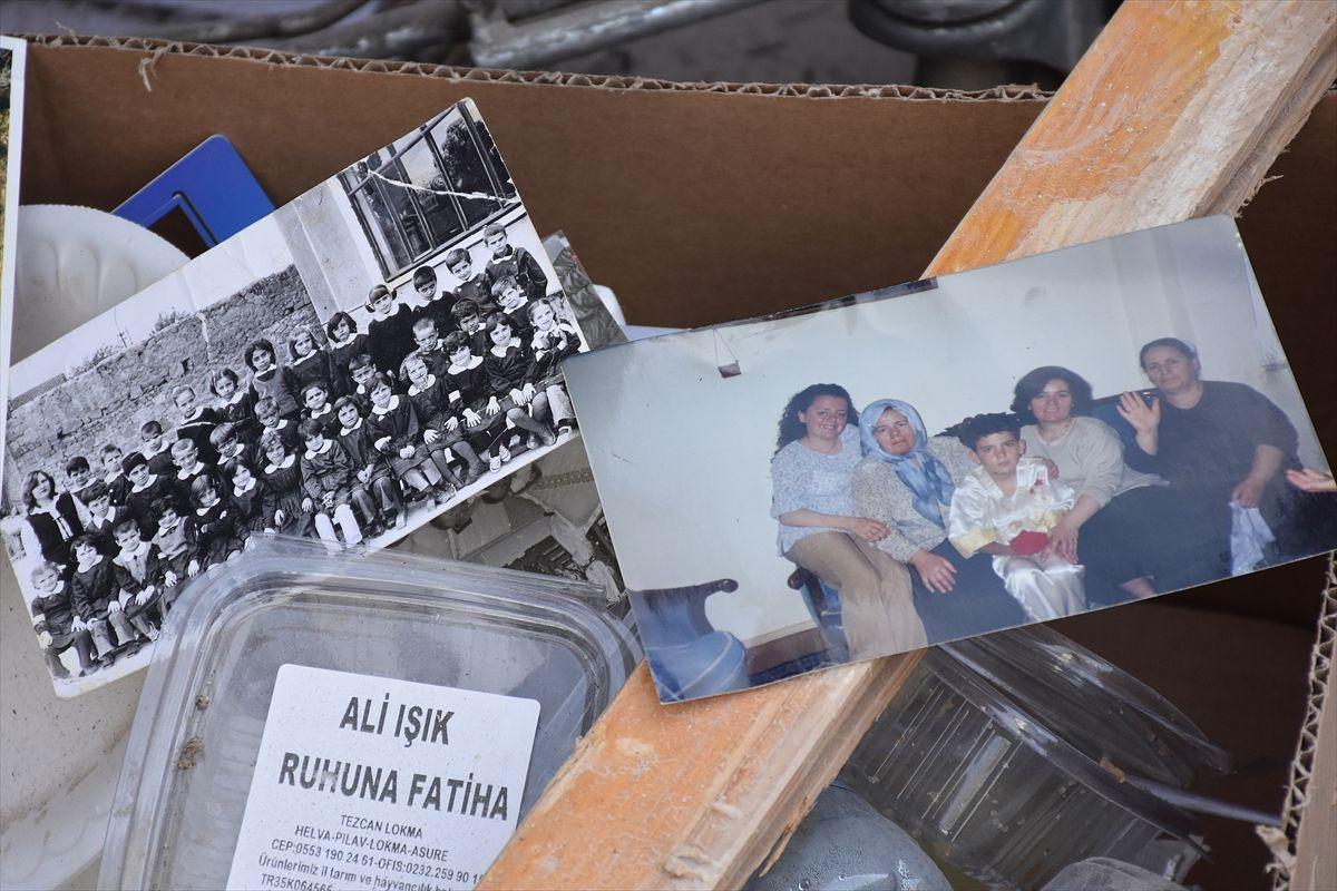İzmir'deki depremde çöken Doğanlar Apartmanı'ndan geriye hüzün dolu anılar kaldı