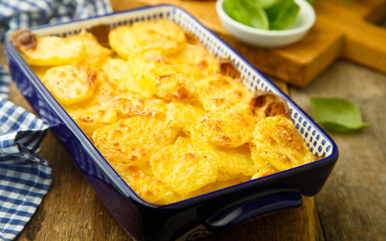 Patates graten nasıl yapılır mutfakta harikalar yaratır!