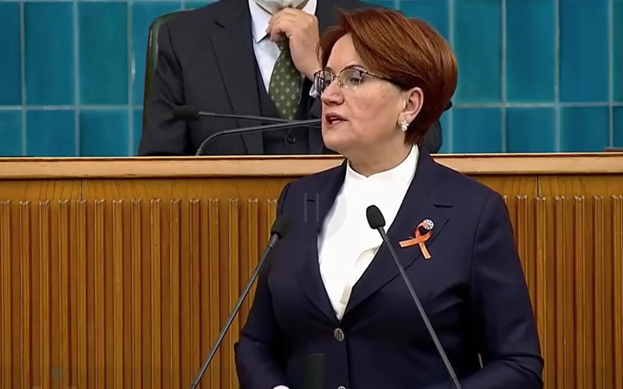 Meral Akşener, grup toplantısında İzmir depremiyle ilgili konuştu