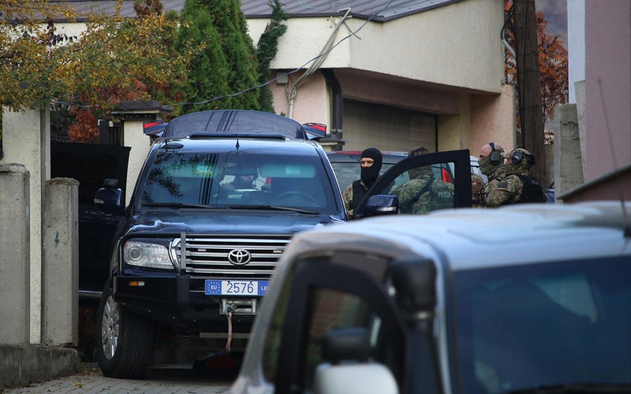 Kosova'da eski meclis başkanının evine operasyon