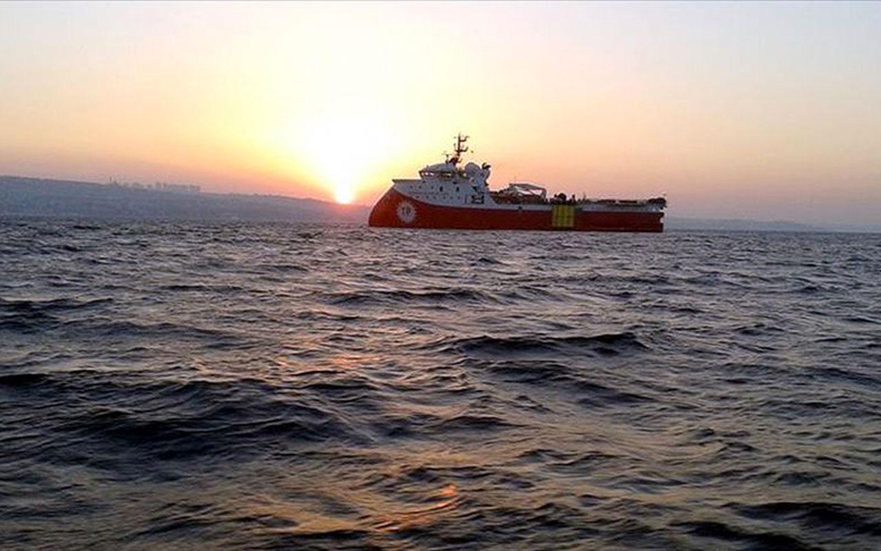 Barbaros Hayreddin Paşa gemisinin görev süresi açıkladı
