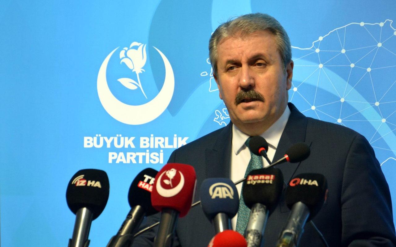 BBP lideri Mustafa Destici'den erken seçim açıklaması: Halkın gündeminde geçim var