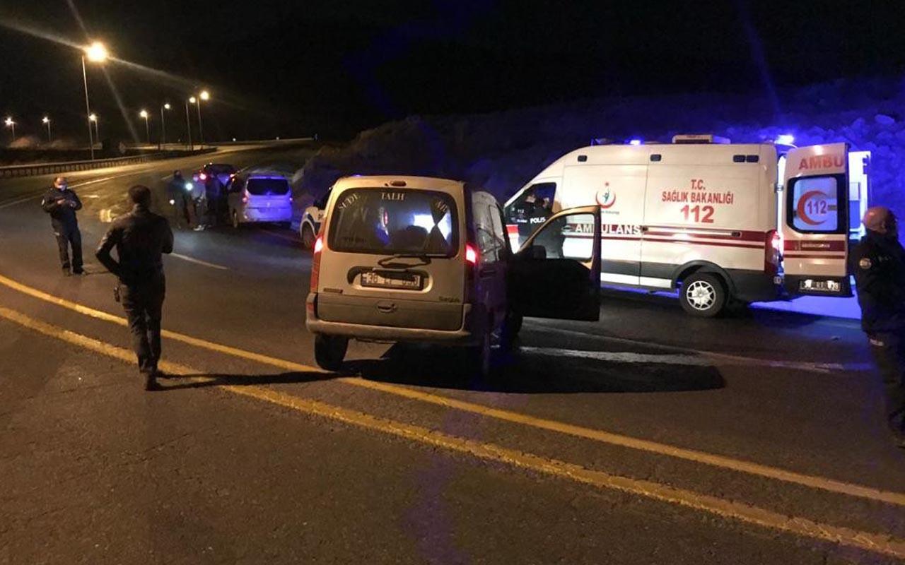 Kayseri'de kanlı olay: Yol ortasındaki otomobilde başından vurulmuş 1 kişi bulundu