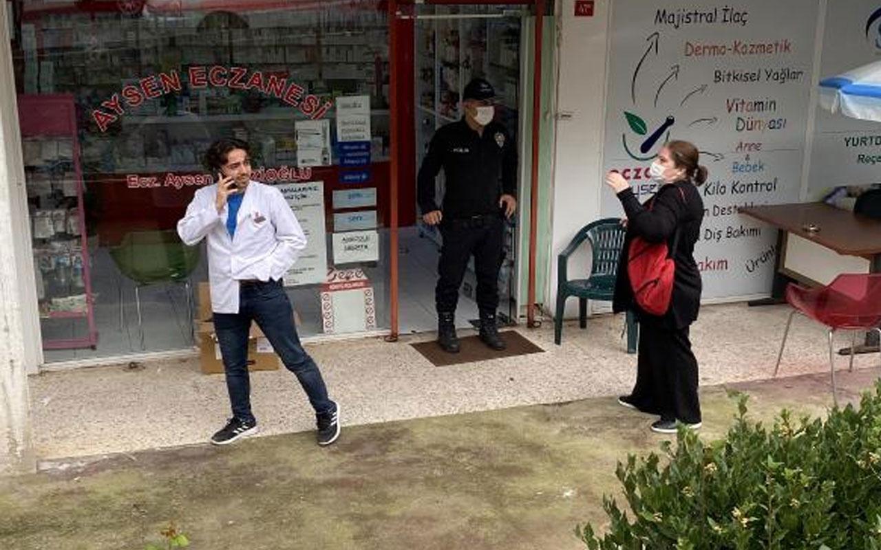 Maltepe'de korku dolu anlar! Kırmızı reçeteli ilacı vermeyince kurusıkı tabancayla ateş açtı