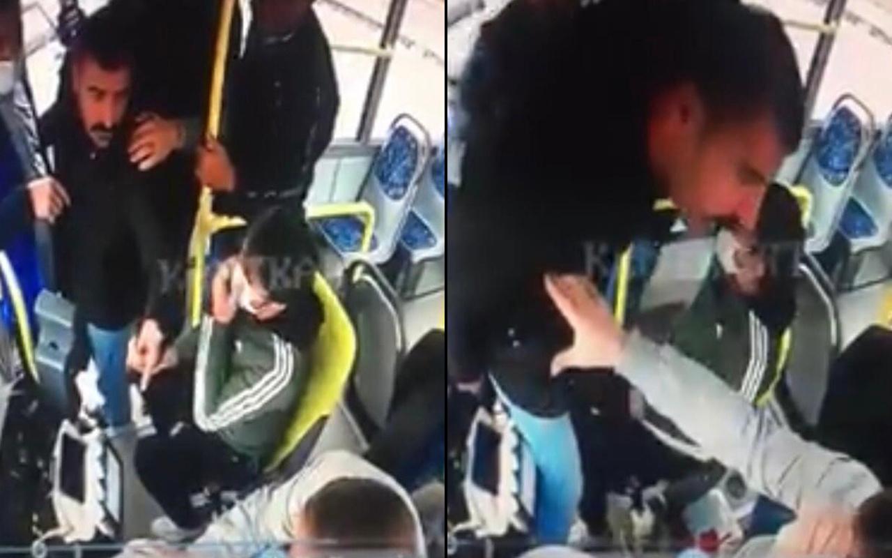 Kocaeli'de kooperatif yöneticisi halk otobüsü sürücüsünü darp etti