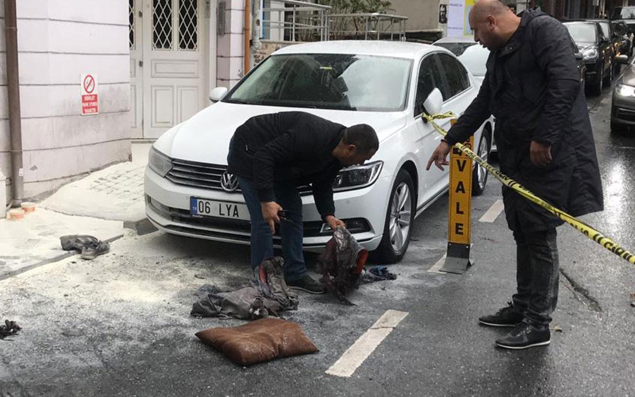 Beşiktaş Bebek'te korkutan patlama! 2 işçi yaralandı
