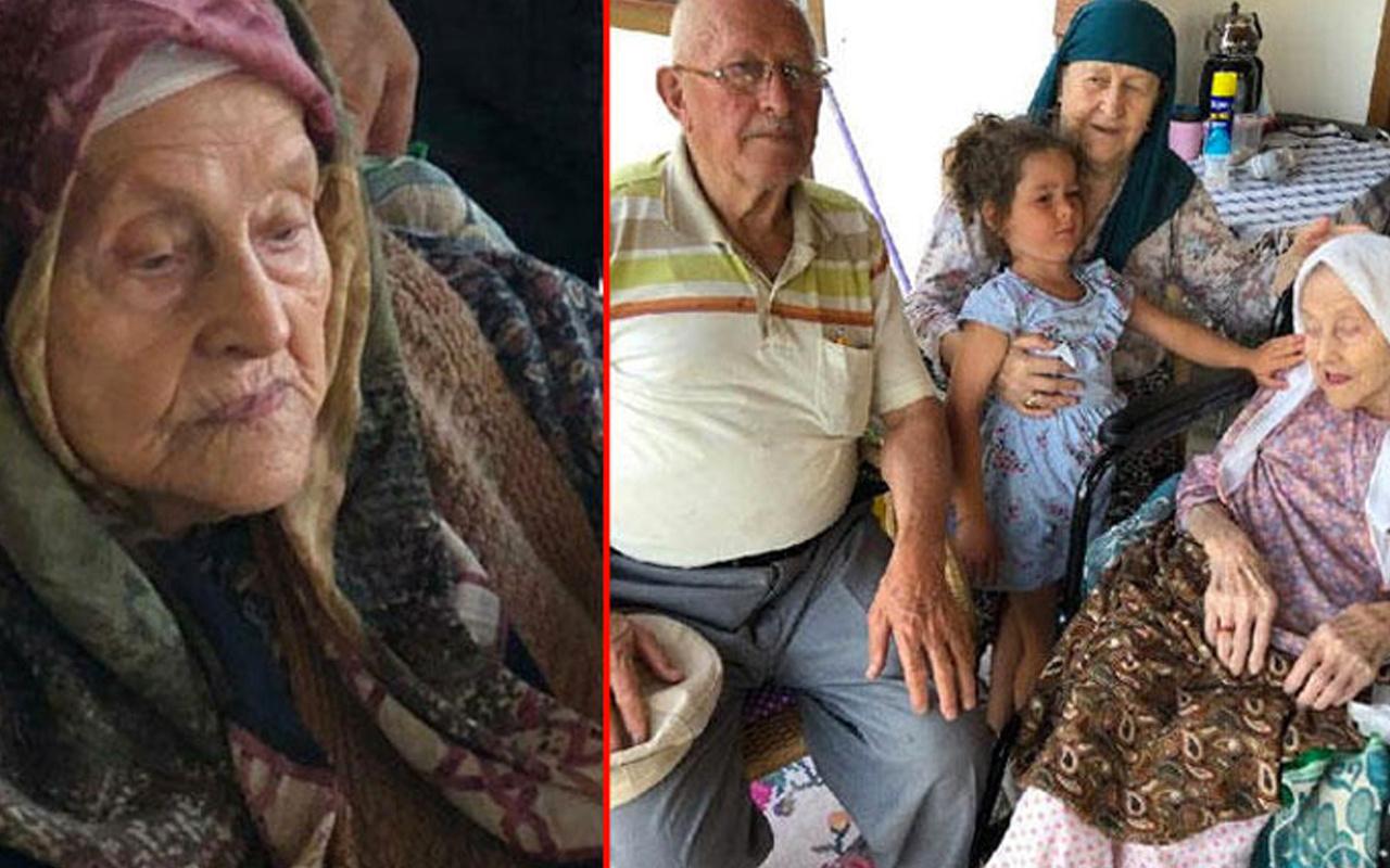 Bursa'da 109 yaşında koronavirüsü yendi bir gün sonra hayatını kaybetti