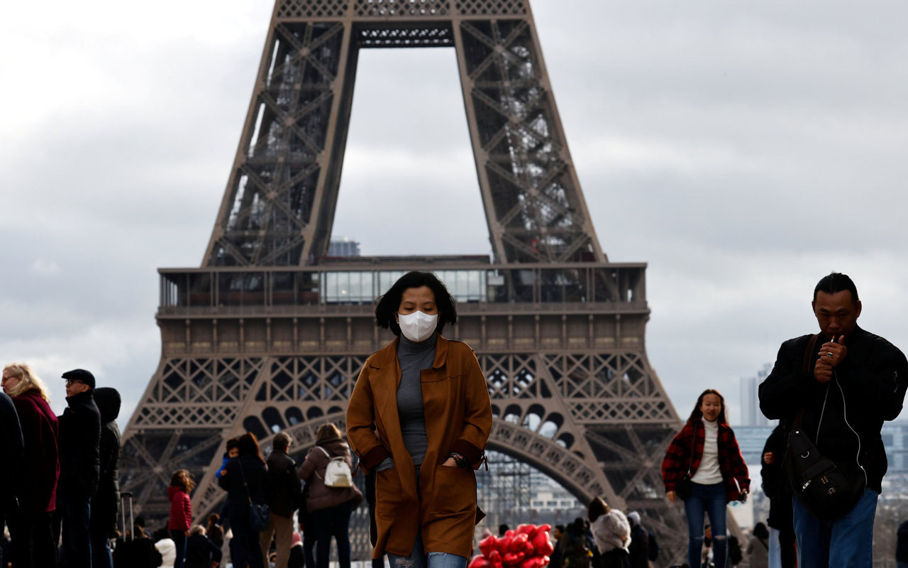 Fransa ürkütüyor! Son 24 saatteki vaka sayısına bakın