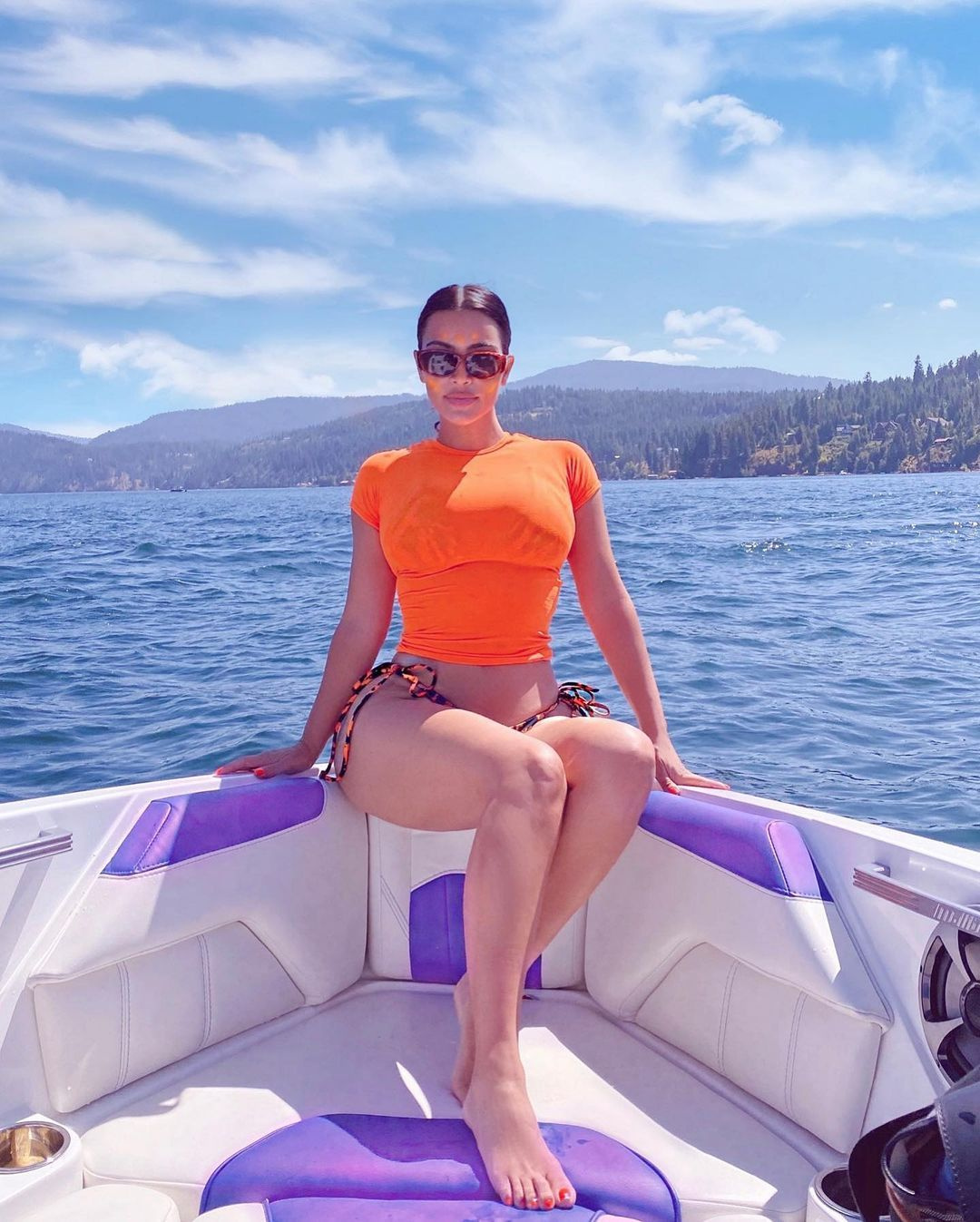 ABD seçiminde kocası adaydı! Kim Kardashian başka bir adayı desteklemiş olabilir