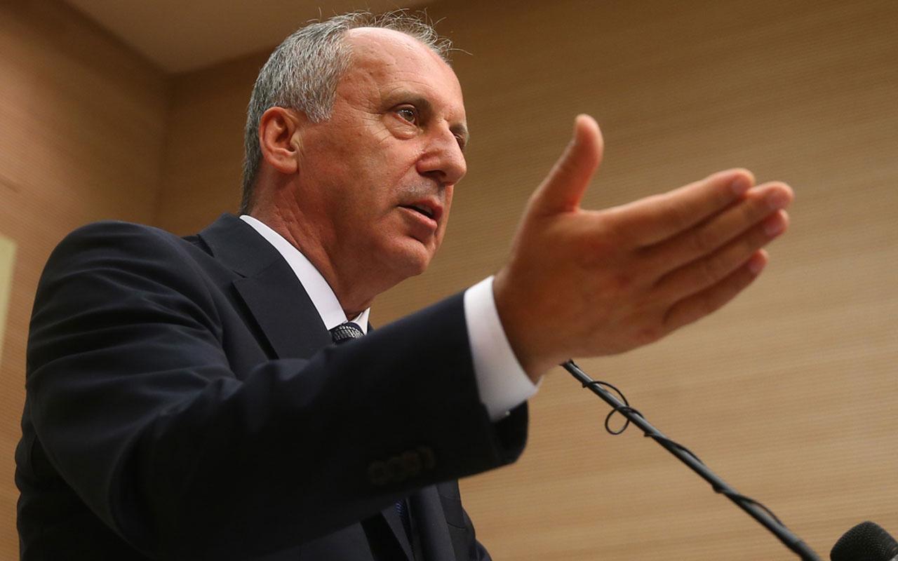 Muharrem İnce Kemal Kılıçdaroğlu'na seslendi: Kanıtın varsa ortaya koy
