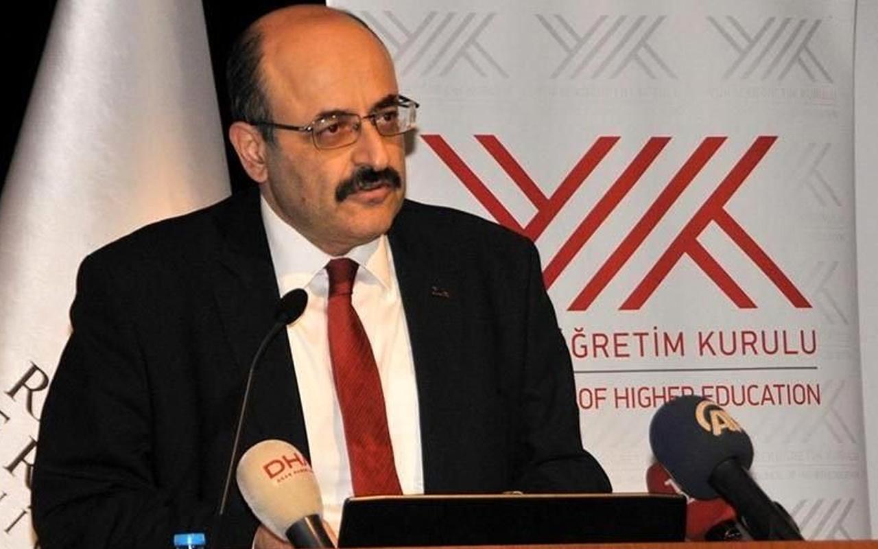 Üniversite yatay geçişlerinde usulsüzlük! YÖK Başkanı Yekta Saraç doğruladı
