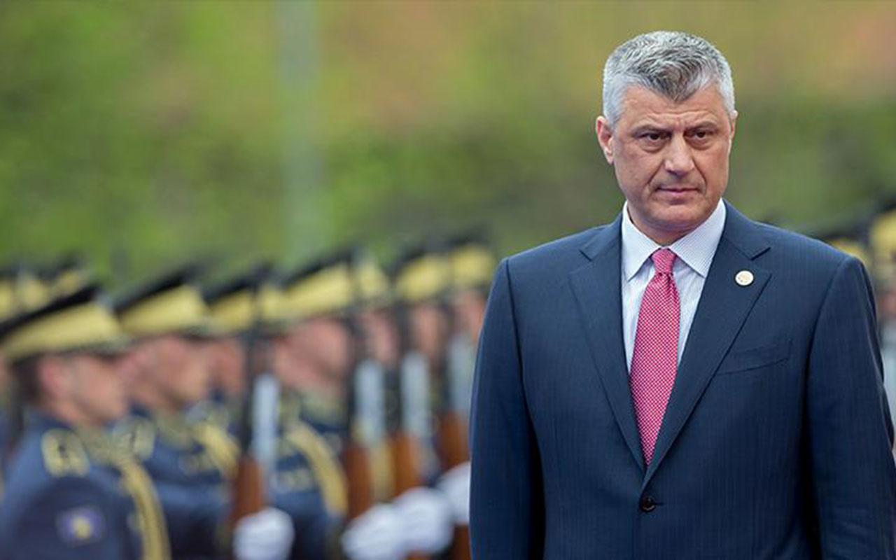 Kosova Cumhurbaşkanı tutuklandı ve Lahey'e götürüldü! Dün istifa etmişti