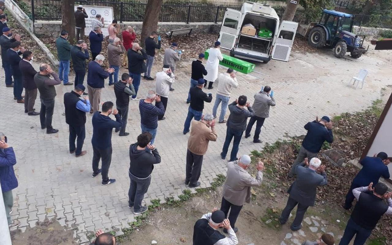 Bursa'da acı olay! Önce oğlu vefat etti 6 gün sonra babası