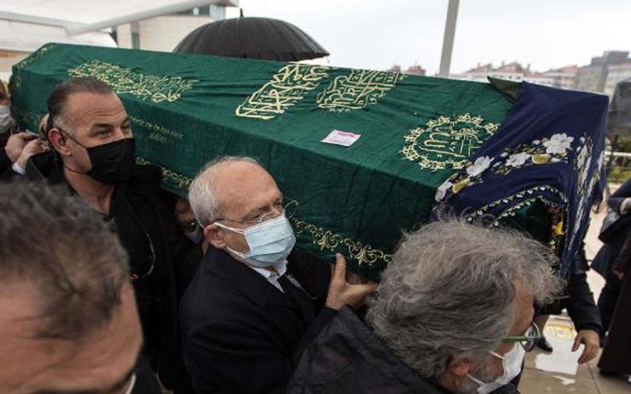 Kemal Kılıçdaroğlu Akif Hamzaçebi'nin annesinin cenaze törenine katıldı