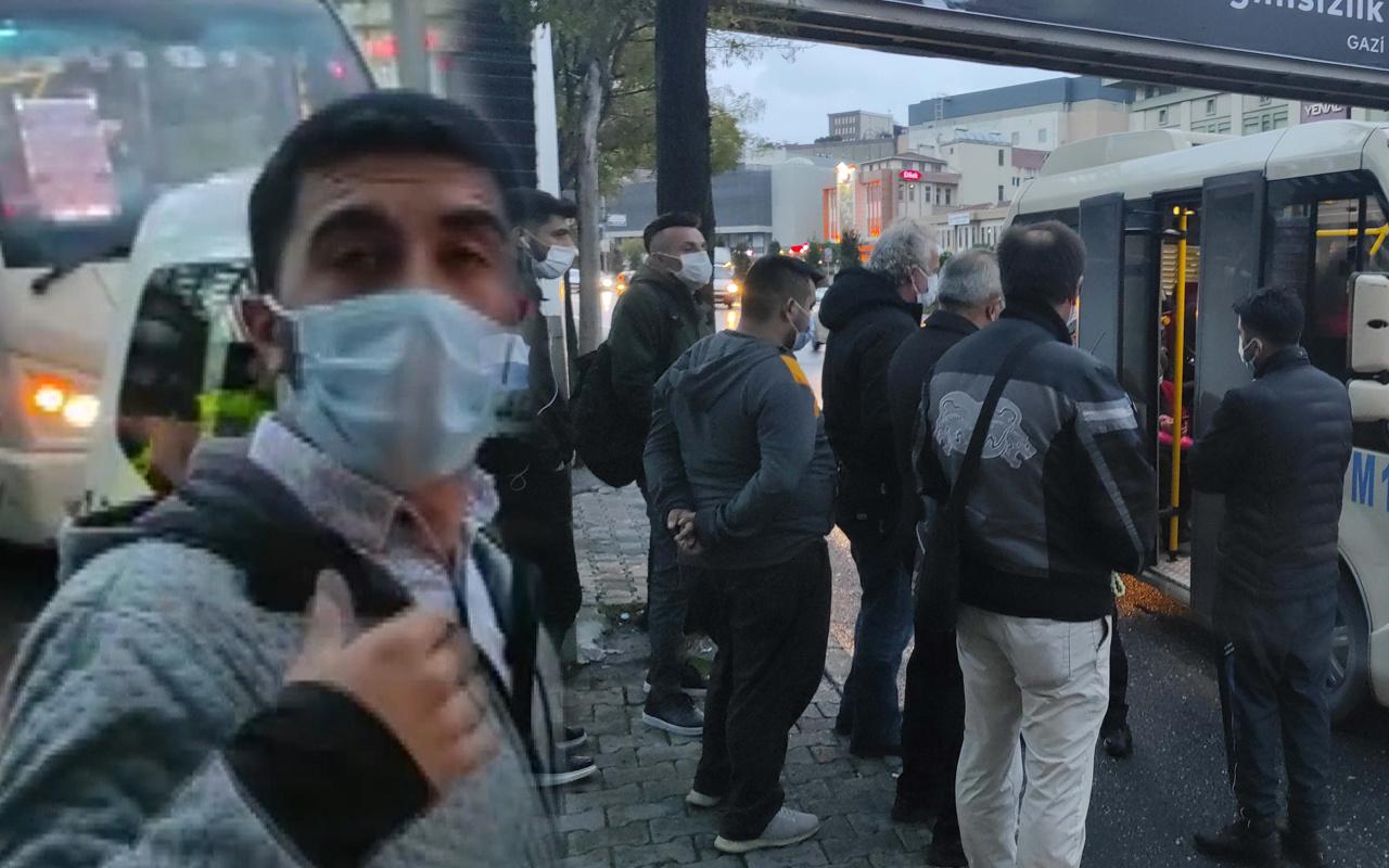 Başakşehir'de minibüs şoföründen akılalmaz savunma: Ben almadım onlar bindi