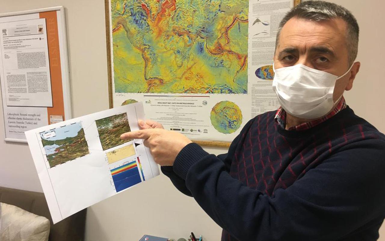 Prof. Dr. Oruç'tan deprem uyarısı: Kuzey Anadolu fay hattının Güney kolu incelenmeli