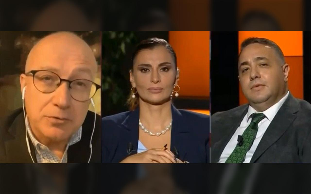 CNN Türk'te gazeteci kavgası! 'Sen aptal, şapşal bir adamın tekisin'