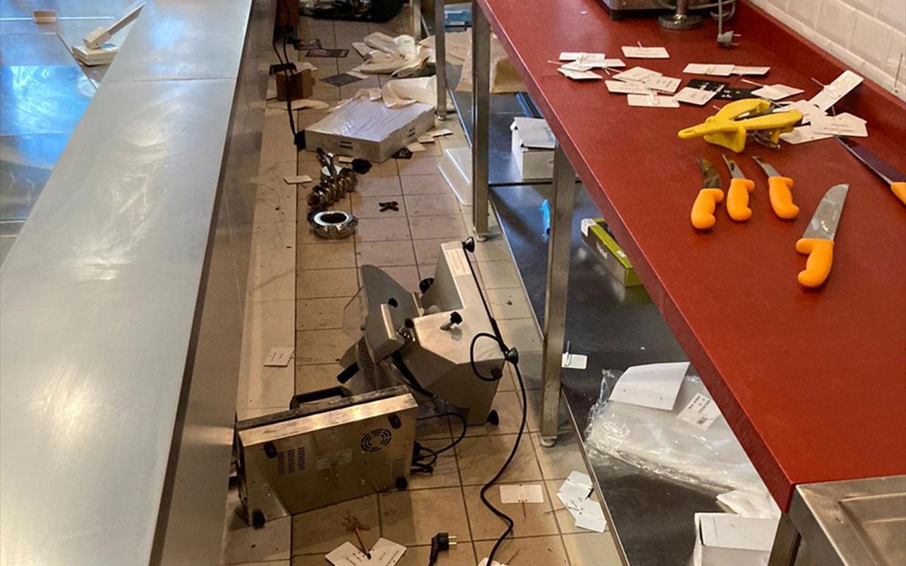 Fransa'da Türk dükkanına ırkçı saldırı polisin sözleri vahim