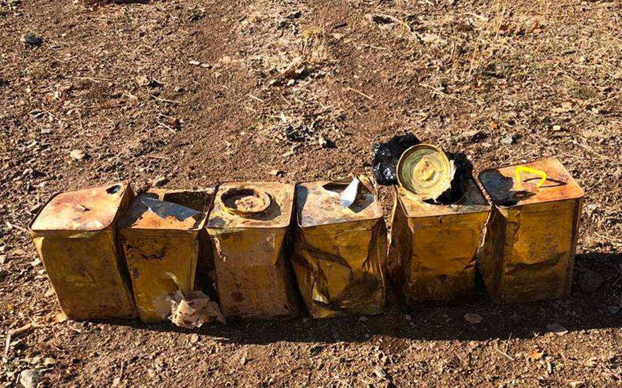 Bitlis'te patlamaya hazır 100 kg bomba ele geçirildi! İçişleri Bakanlığı açıkladı