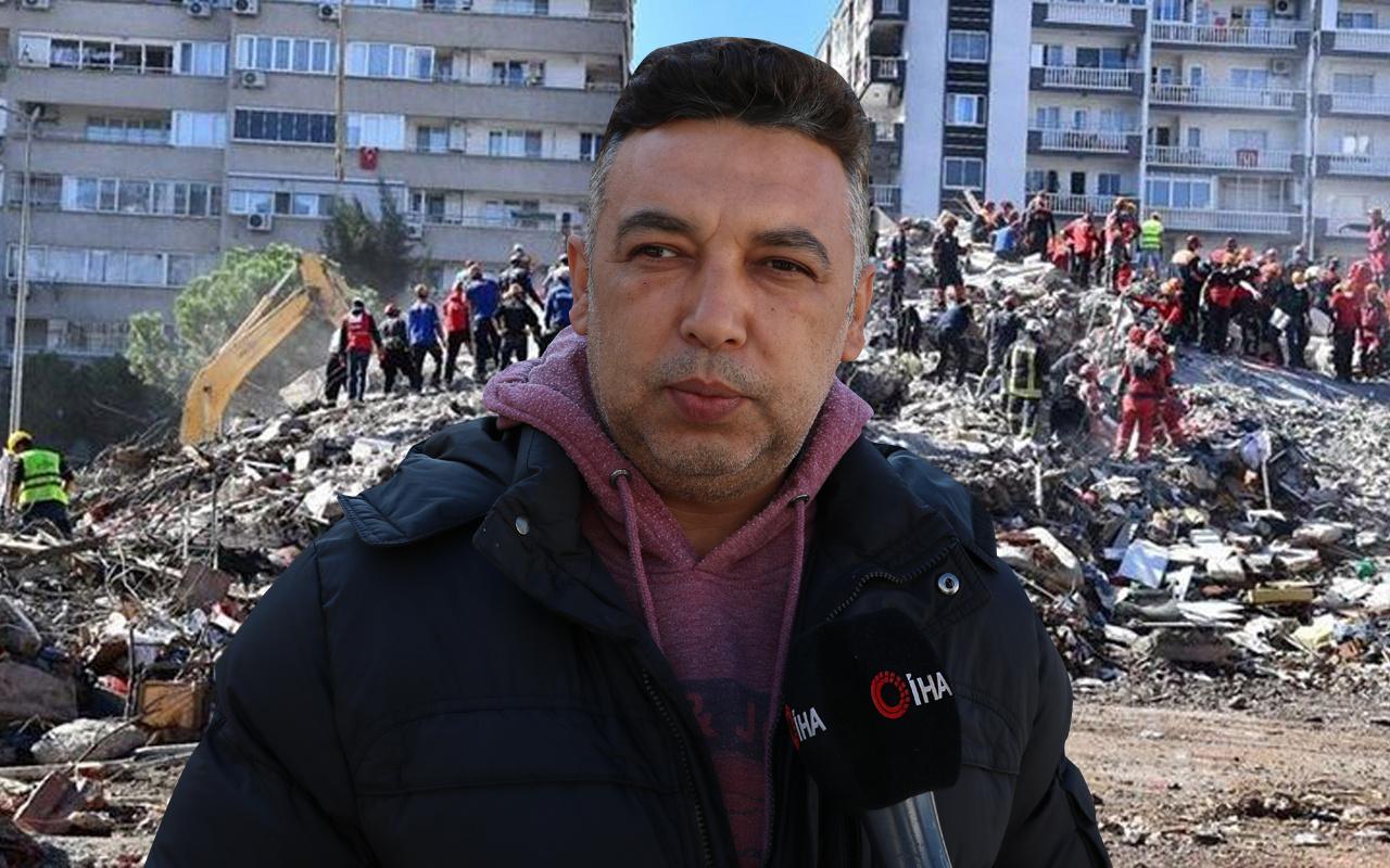 İzmir depreminde hayatının en zor anını yaşadı! 17 kişiyi tek tek o teşhis etti