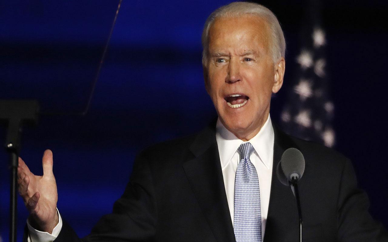 ABD başkanlığına seçilen Biden zafer konuşması yaptı: Birleştiren bir başkan olacağım
