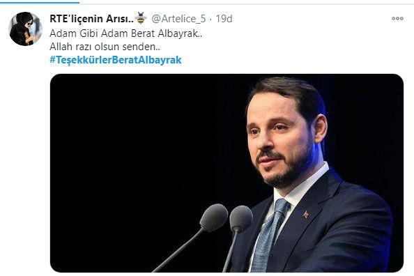 Berat Albayrak'ın istifası kabul edilince sosyal medyada paylaşım rekoru kırıldı