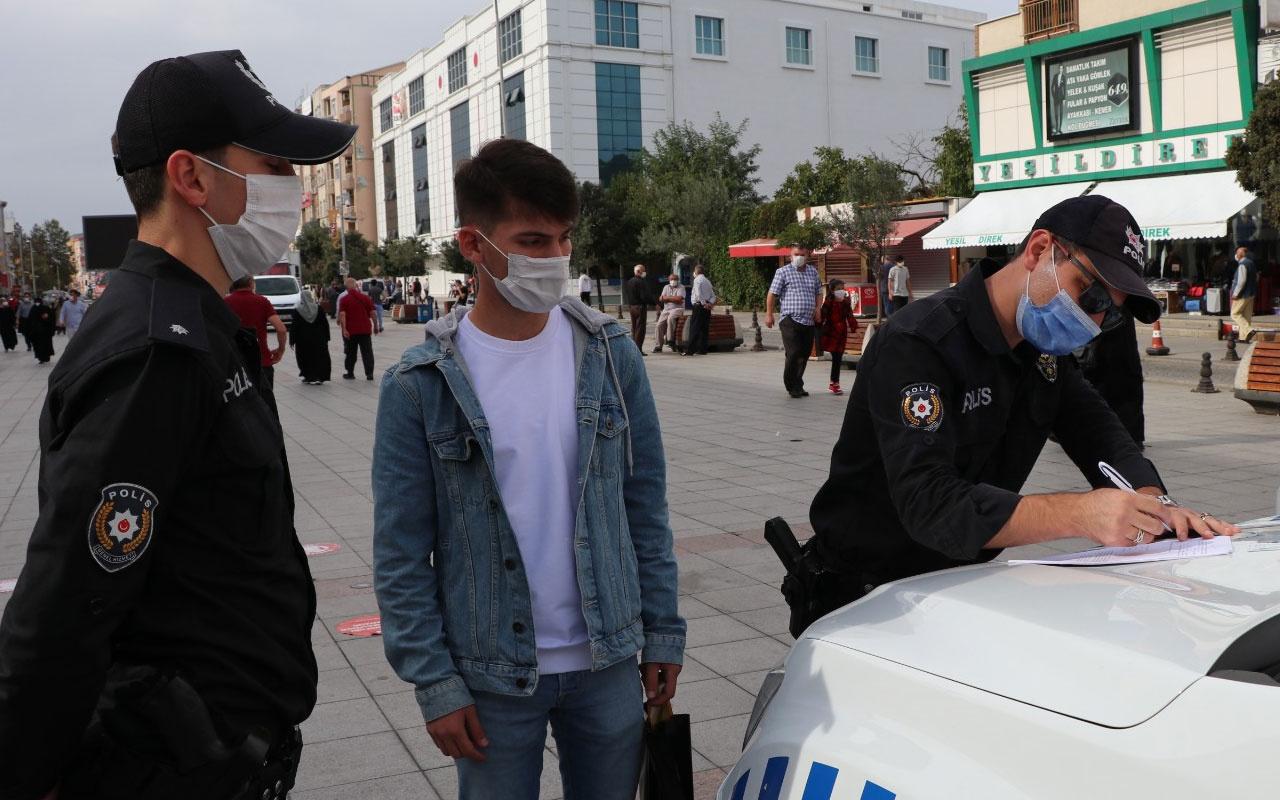 Sultanbeyli'de maske, mesafe ve izolasyon kurallarına uymayanlara 1 milyon 595 bin lira ceza kesildi