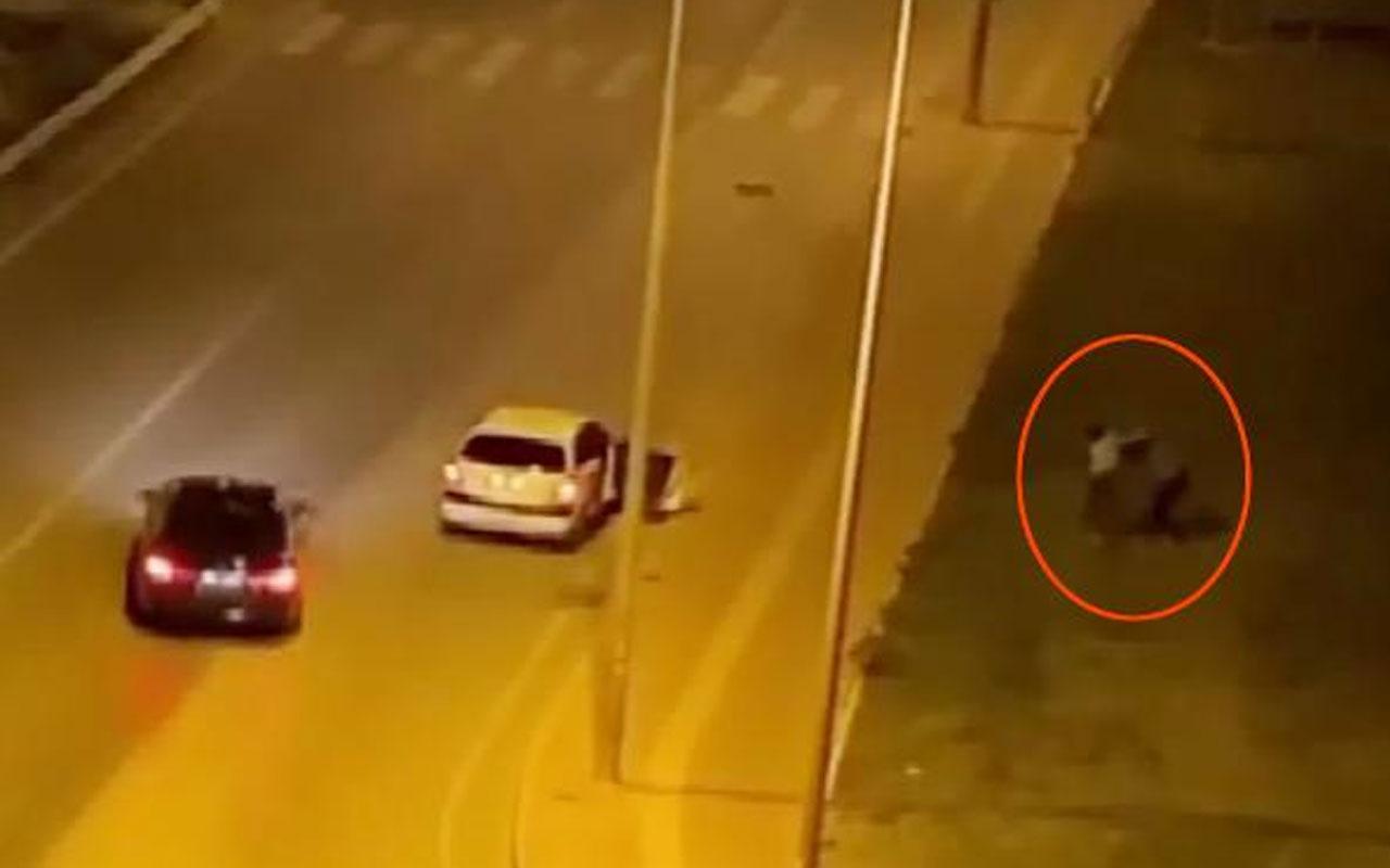 Antalya'da yaşandı! Bir kadın tartıştığı erkeği tokatlayıp, tartakladı