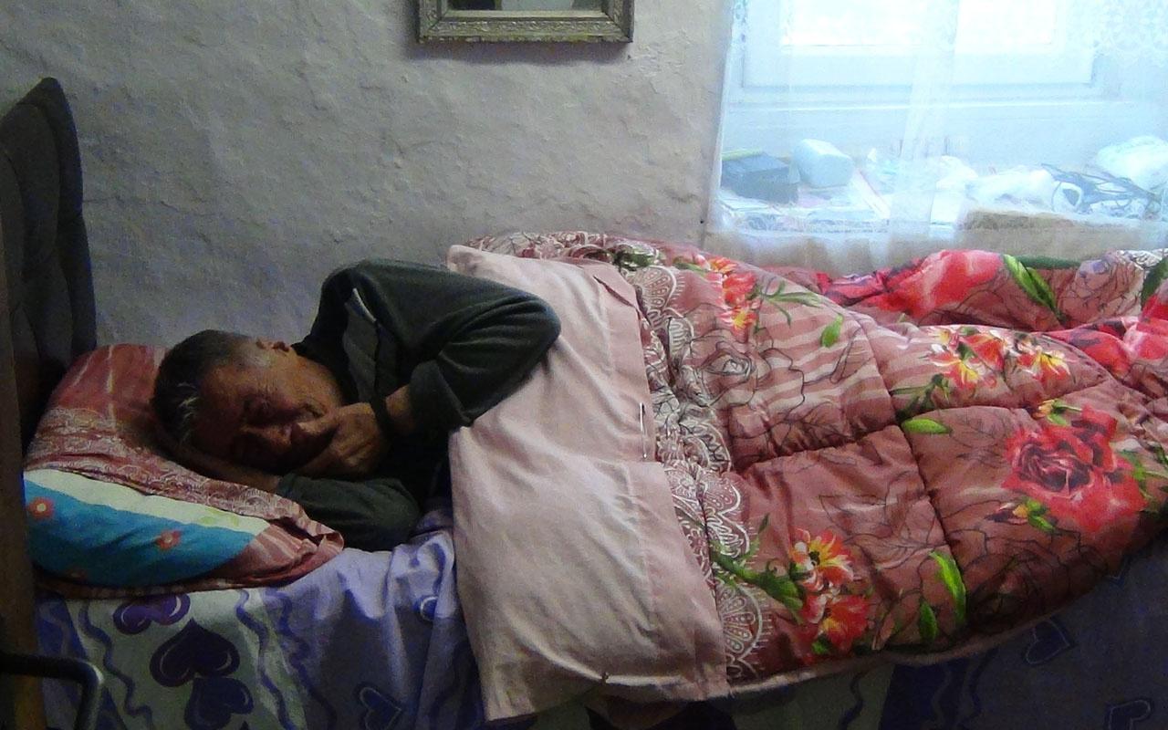 Bursa'da yaşlı adamın çaresizliği 'Kimsem yok' diyerek yardım istedi