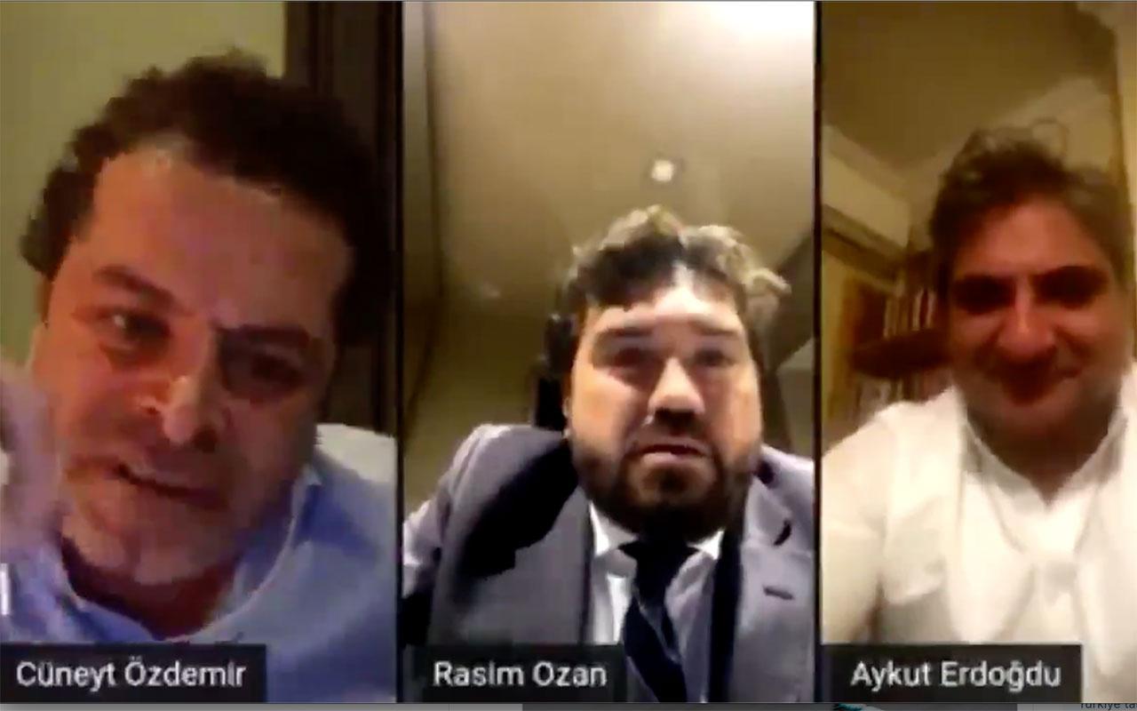 Cüneyt Özdemir ile Rasim Ozan Kütahyalı birbirine girdi! 'Senin kafan güzel mi!'