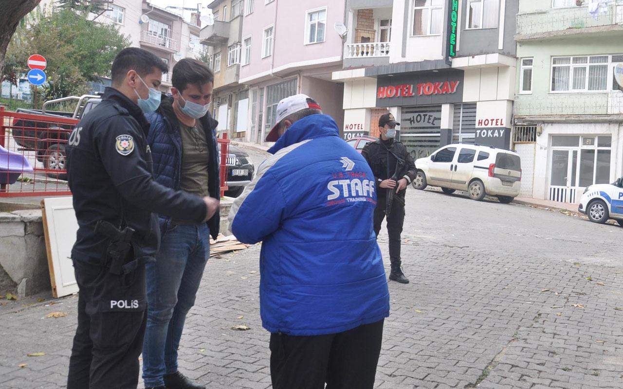 Maske takmadı polise 'kimliğim yok' dedi emniyete davet edilince bakın ne yaptı!