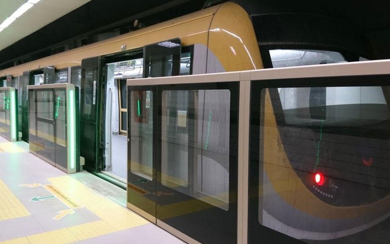 Belarus'taki metro hattının peron ayırıcı kapı sistemi Türkiye'den