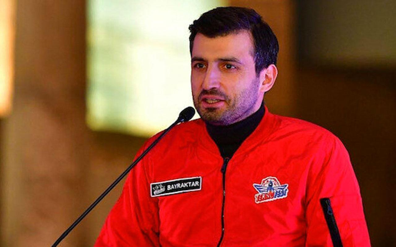 Selçuk Bayraktar Azerbaycan'da kahraman oldu