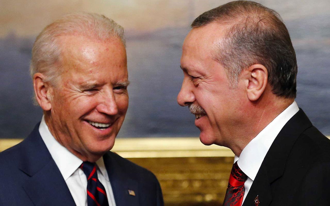 Cumhurbaşkanı Erdoğan'dan ABD Başkanı Biden'a tebrik mesajı