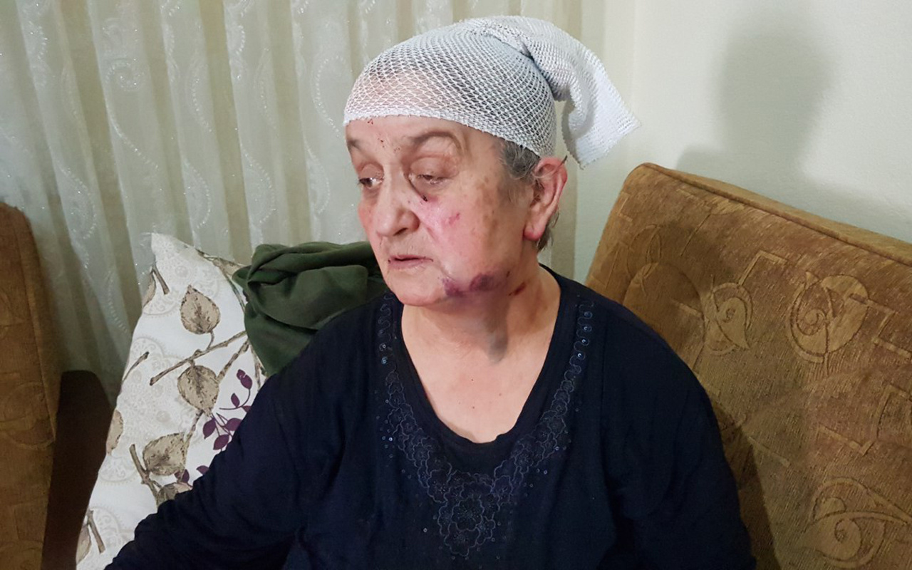 Karabük'te yaşlı evine giren gaspçıdan ölü taklidi yaparak kurtuldu