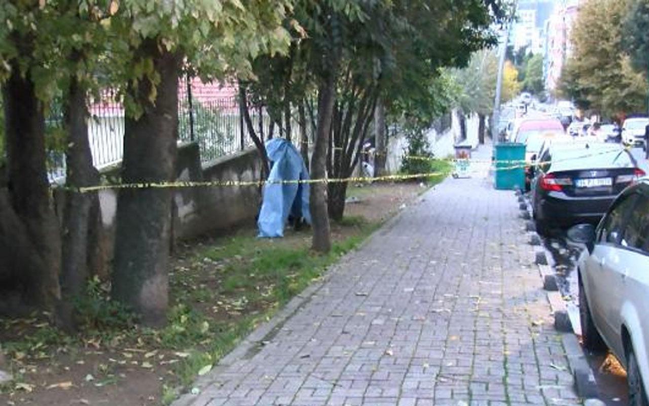 Bahçelievler'de şok! Ağaca asılı erkek cesedi bulundu