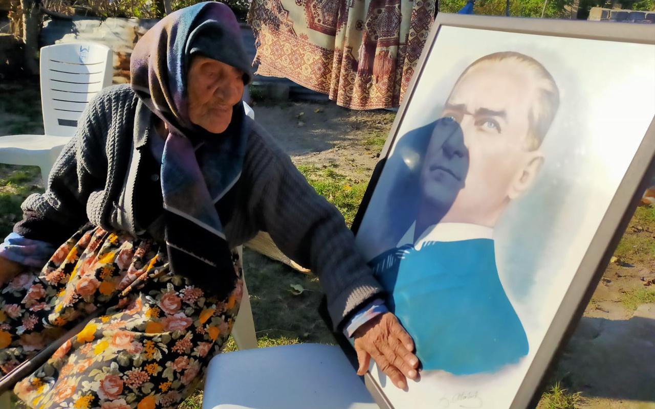 Bursa'da 120 yaşındaki Fatma nine Atatürk'e 'param yok' deyince bakın ne yanıt almış