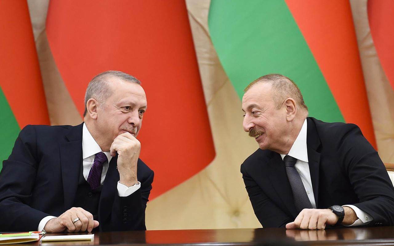 Cumhurbaşkanı Erdoğan İlham Aliyev'le telefonda görüştü!