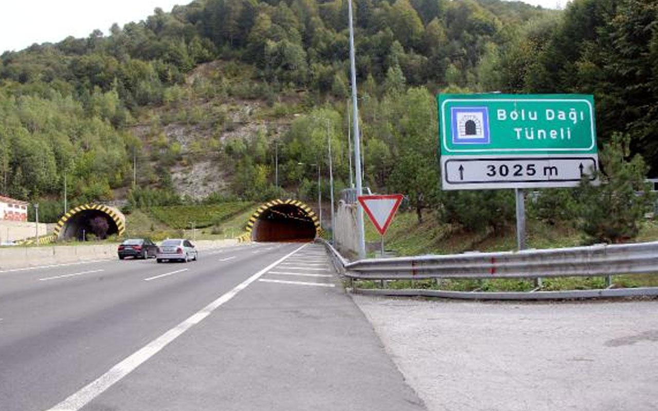 Türkiye'nin önemli geçiş güzergahlarından! Bolu Dağı Tüneli 28 gün sonra trafiğe açıldı