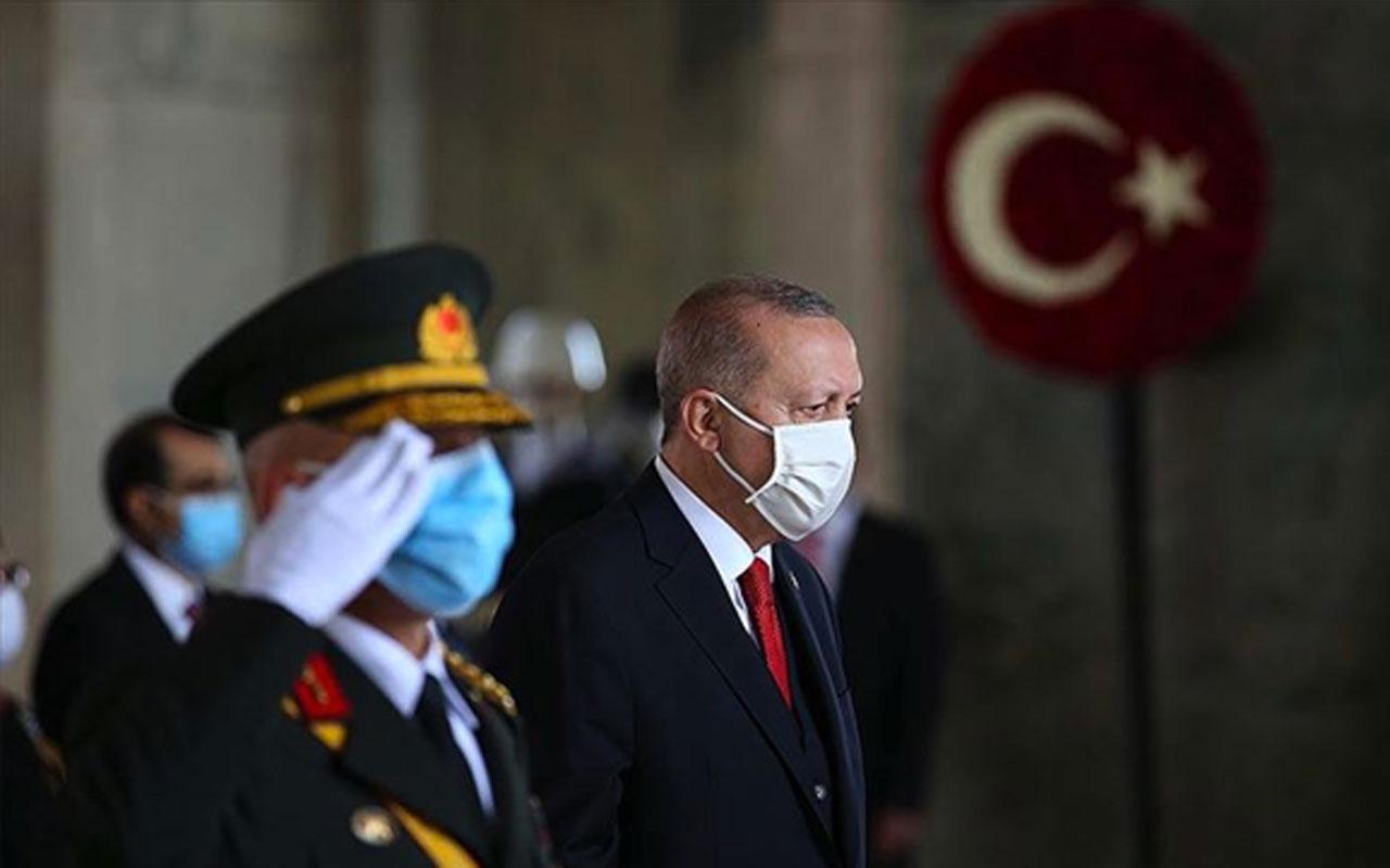 10 Kasım Atatürk'ü anma töreni! Erdoğan, devletin üst kademesiyle Anıtkabir'de
