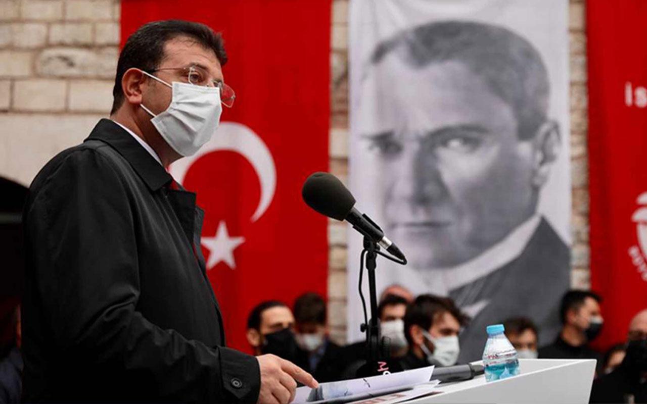 Ekrem İmamoğlu, 'Atatürk'ün Fotoğraflarının Hikayesi' sergisinde dikkat çeken açıklamalar yaptı