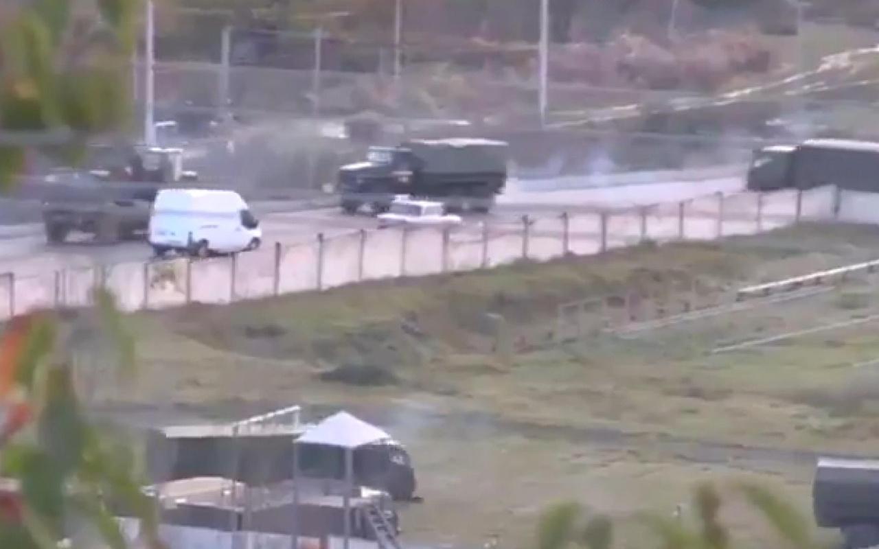 Rus askerleri, Dağlık Karabağ'a konuşlandırılıyor