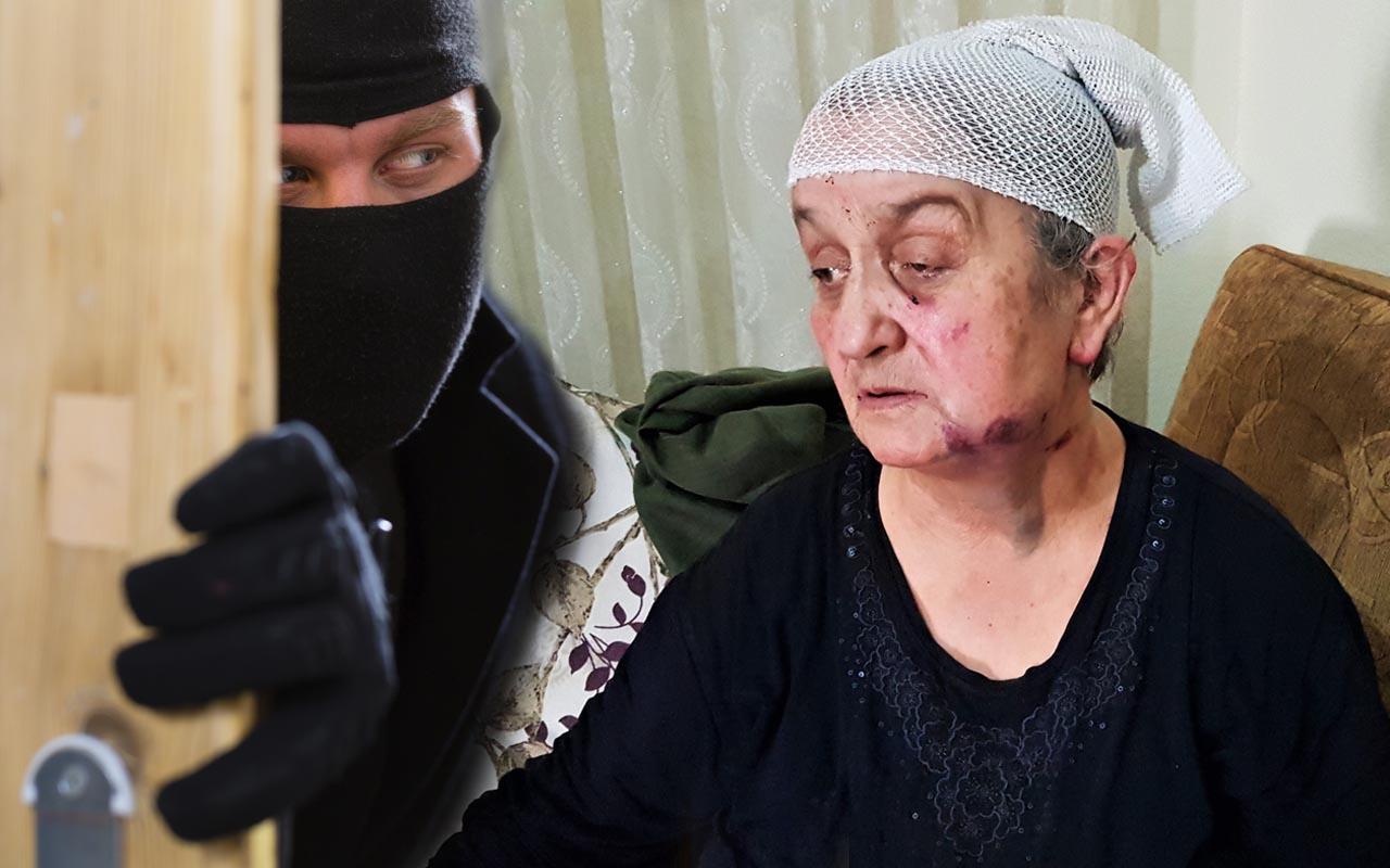 Karabük'te baltalı hırsıza karşı 'ölü' numarası: Işığı yakabilseydim öldürürdü