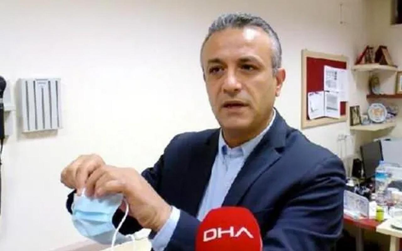 Bilim Kurulu üyesi Hasan Tezer'den maske uyarısı: Sakın yapmayın