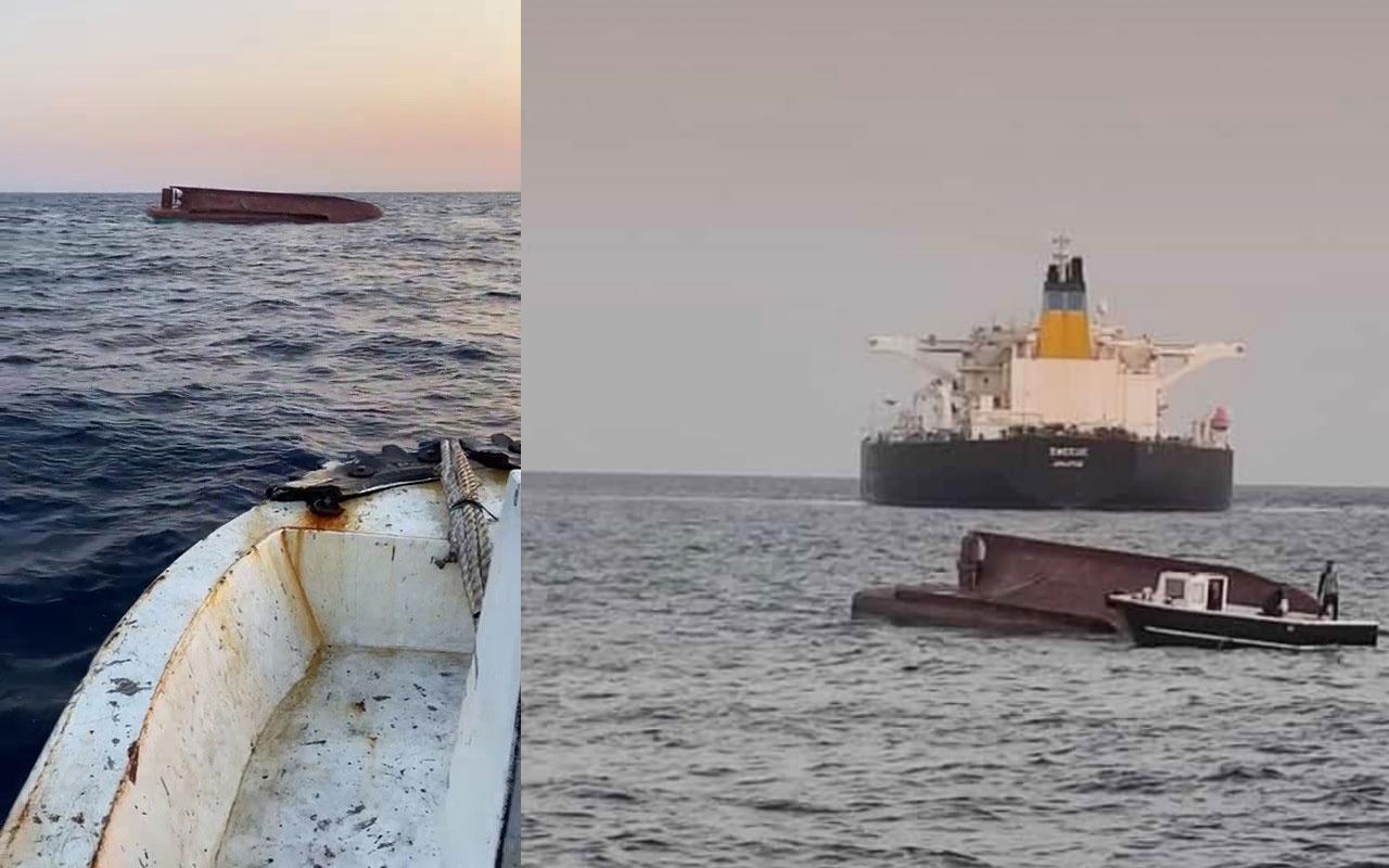 Yunan tankeri ile Türk balıkçı teknesi çarpıştı! 5 balıkçıdan 4'ünün cesedine ulaşıldı