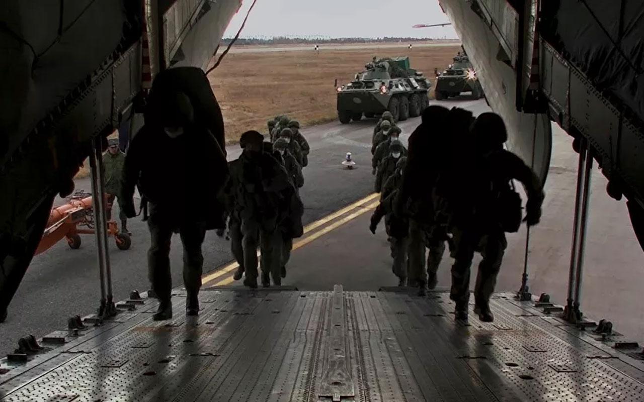 Rus barış gücü konvoyu, Karabağ'a hareket etti! Temas hattında konuşlanacaklar