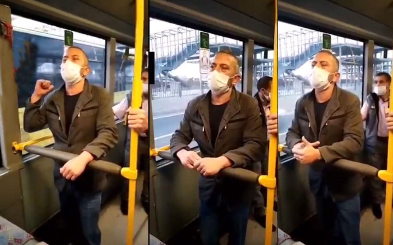 Otobüste genç kıza bakarak mastürbasyon yaptı! İtiraf da etti