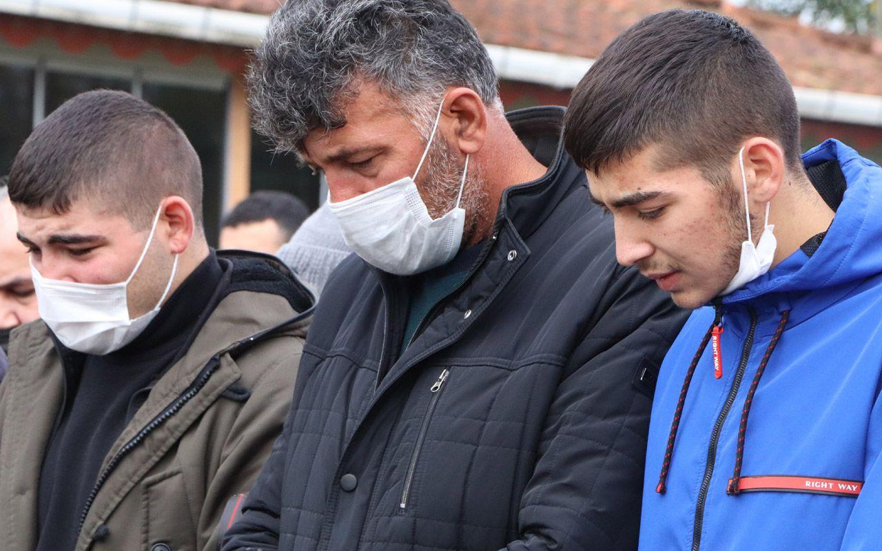 Samsun'da ip atlarken kalp krizinden ölen Sinem toprağa verildi